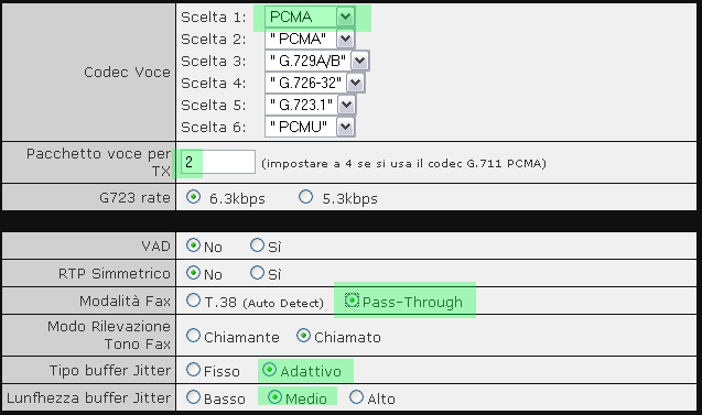 VOIspeed V-6019 Adattatore FXO